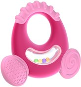 Nuby Natural Touch Softees Teether - Large - Girl