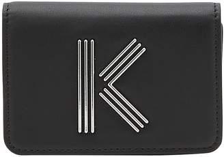Kenzo K leather card holder