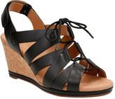 Clarks Women's Helio Mindin Strappy Wedge Sandal