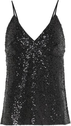 Norma Kamali Exclusive to Mytheresa Sequined camisole