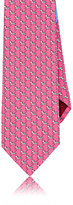 Salvatore Ferragamo Men's Zebra-Print Silk Necktie