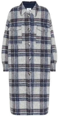Etoile Isabel Marant Isabel Marant, étoile Gabrion checked wool coat