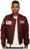 Alpha Industries MA-1 Flex Slim Flight Jacket Men's Coat
