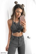 Forever 21 Lace-Up Cami