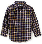 Class Club Little Boys 2T-7 Plaid Button-Down Shirt