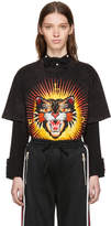 Gucci Black Modern Future Tiger T-Shirt