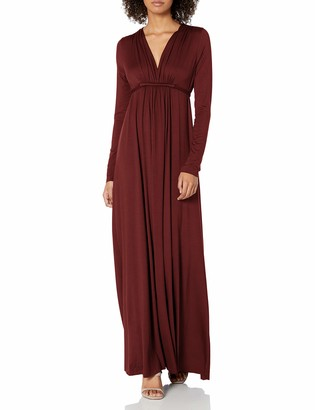 Rachel Pally Women's Jersey Long Sleeve Full Length Caftan