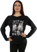 Justin Bieber Women's Purpose Album Cover Sweatshirt