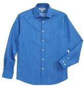 DKNY Boy's Neat Chambray Dress Shirt