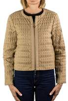 Moncler Gamme Rouge Jody Zip-up Blouse Jacket Beige Women's.