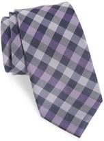 Nordstrom Men's Check Silk & Cotton Tie