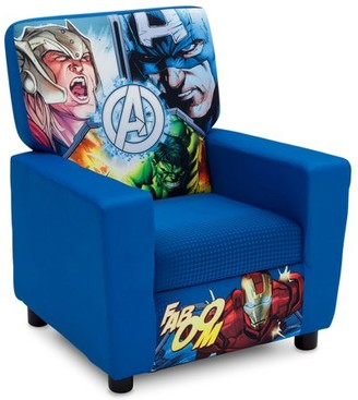 Marvel Avengers Youth High Back Upholstered Chair by Delta Children