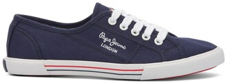 Pepe Jeans Basic 17 Canvas Trainers