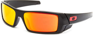 Oakley Gascan Polished Black & Prizm Ruby Sunglasses
