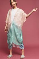 Anthropologie Ombre Sheen Kimono