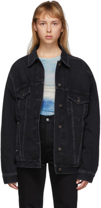 Acne Studios Black Bla Konst Denim 200 Jacket