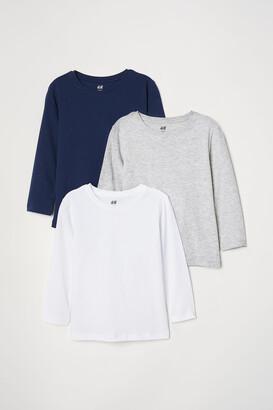H&M 3-pack Jersey Shirts