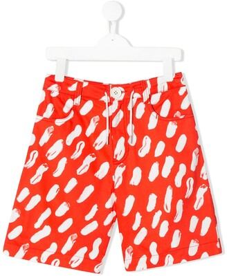 Marni Digital Print Shorts