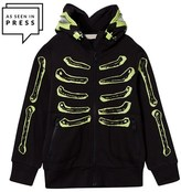 Stella McCartney Black Skeleton Bandit Hoodie