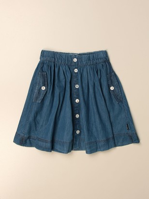 Molo Wide Skirt With Buttons
