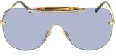 Gucci GG 4262/S Bamboo and Metal Shield Women's Sunglasses