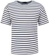 Armor Lux Print Tshirt Blanc/navire