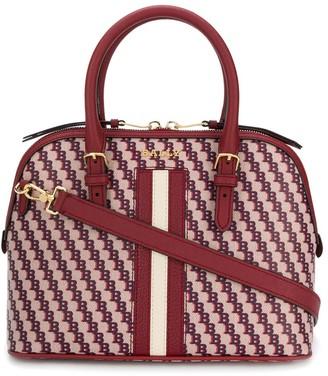 Bally logo print handbag