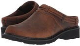 Roper Laces (Brown Crazy Horse Leather) Women's Slip on Shoes