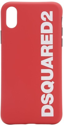 DSQUARED2 Logo Printed Iphone X Cover