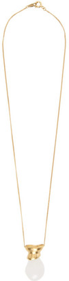 1064 STUDIO Gold Shape of Water 21N Necklace