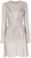 Stella McCartney embellished printed dress - women - Silk/Aluminium - 38