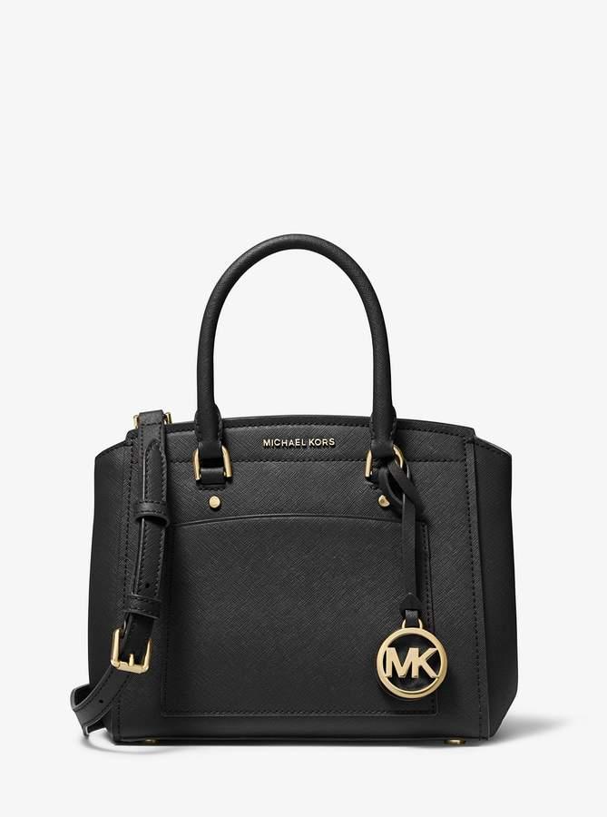 MICHAEL Michael Kors Park Medium Saffiano Leather Satchel