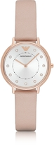 Emporio Armani Kappa Rose Goldtone Stainless Steel Women's Watch