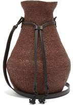 Helen Kaminski Albus Lumen - X Figura Raffia Cross-body Bag - Womens - Brown