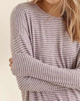 Express Upwest Brushed Pj Crew Neck Tee