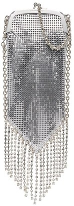 Paco Rabanne Pampilles fringed chainmail shoulder bag