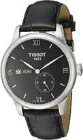 Tissot Men's T0064281605800 Le Locle Analog Swiss Automatic Alligator Leather Watch