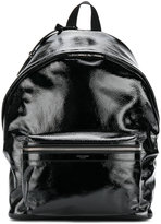 Saint Laurent patent backpack - men - Patent Leather/Polyamide - One Size