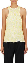 Haider Ackermann Women's Sequin-Embellished Tank-Yellow