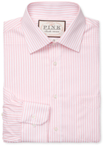 Thomas Pink Brookland Stripe Classic Fit Traveler Dress Shirt