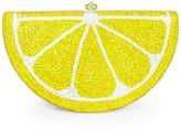Dolli Lemon Wedge Clutch