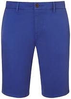 Hugo Boss Boss Orange Chino Shorts, Medium Blue