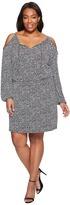 MICHAEL Michael Kors Plus Size Thora Cold Shoulder Dress Women's Dress