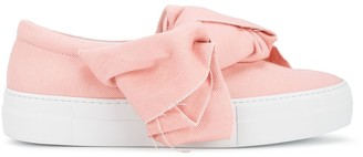 Joshua Sanders Denim Bow Sneakers