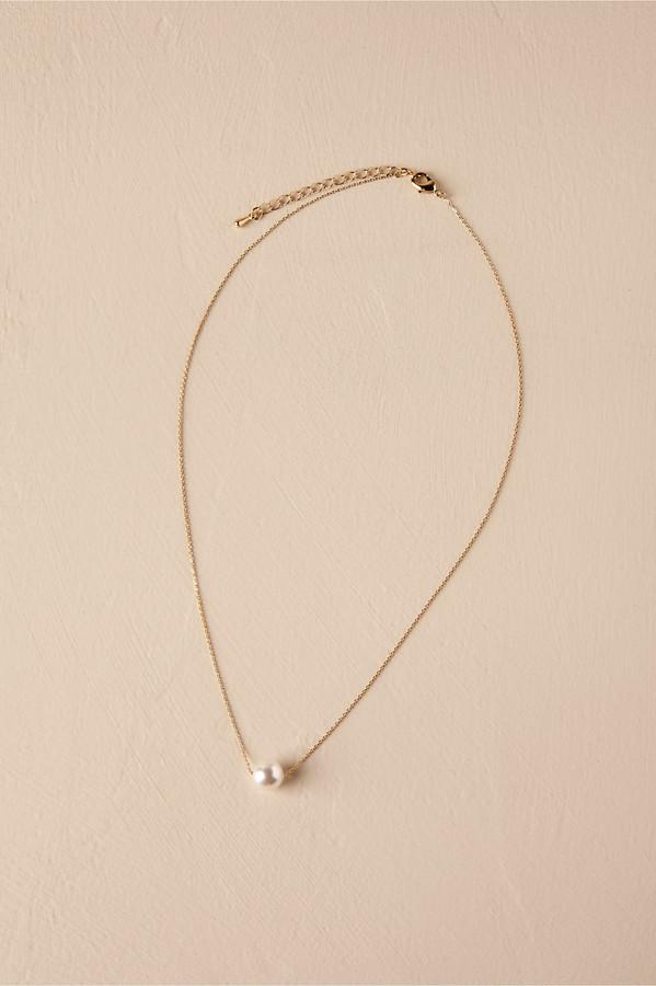 Theia Jewelry Serra Pearl Necklace