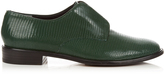 Robert Clergerie Jamo lizard-effect leather slip-on shoes