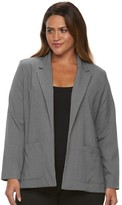 Briggs Plus Size Bi-Stretch Solid Jacket