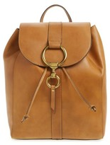 Frye Ilana Harness Leather Backpack - Brown
