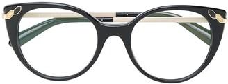 Bvlgari Cat Eye Glasses