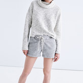 Madewell Terry Lace-Up Shorts